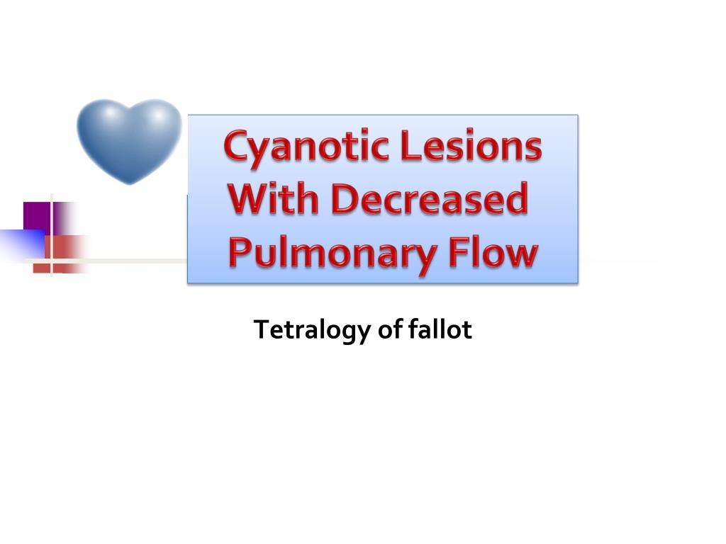 Cyanotic Lesions