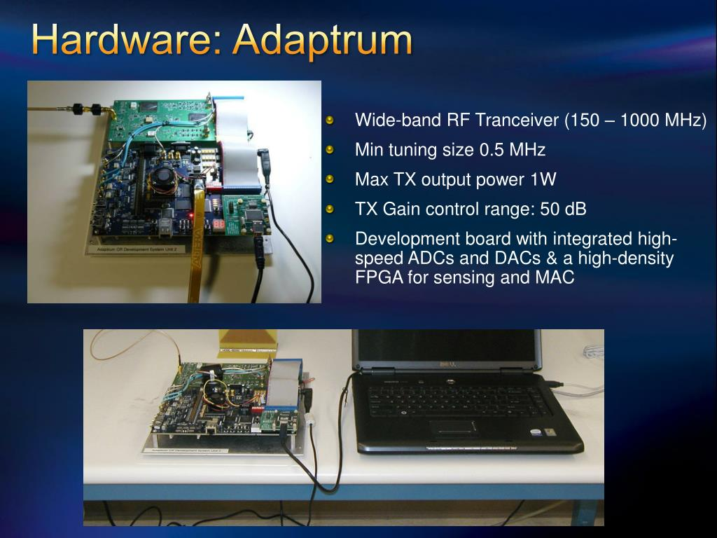 Hardware: Adaptrum