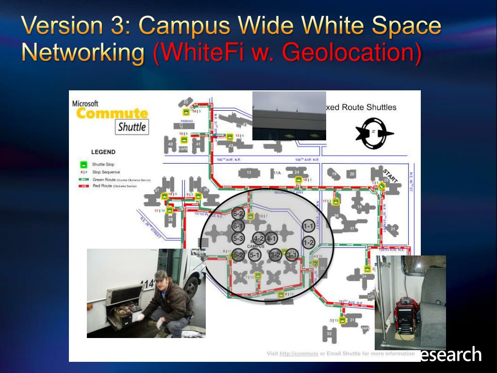Version 3: Campus Wide White Space Networking
