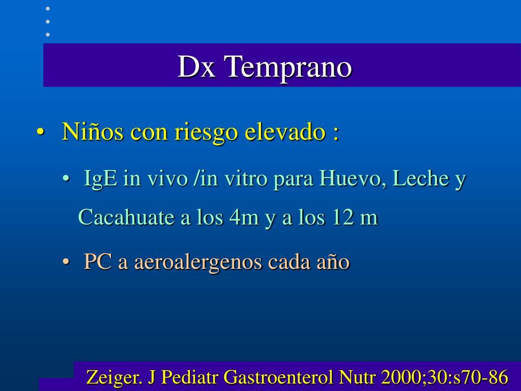 Dx Temprano