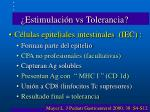 estimulaci n vs tolerancia21