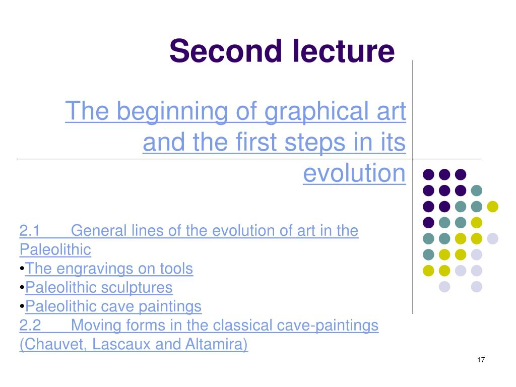 Second lecture