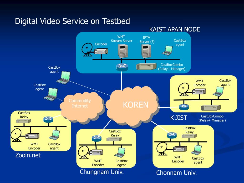 Digital Video Service on Testbed