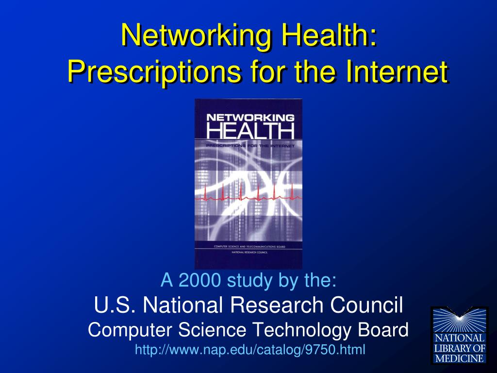 Networking Health: