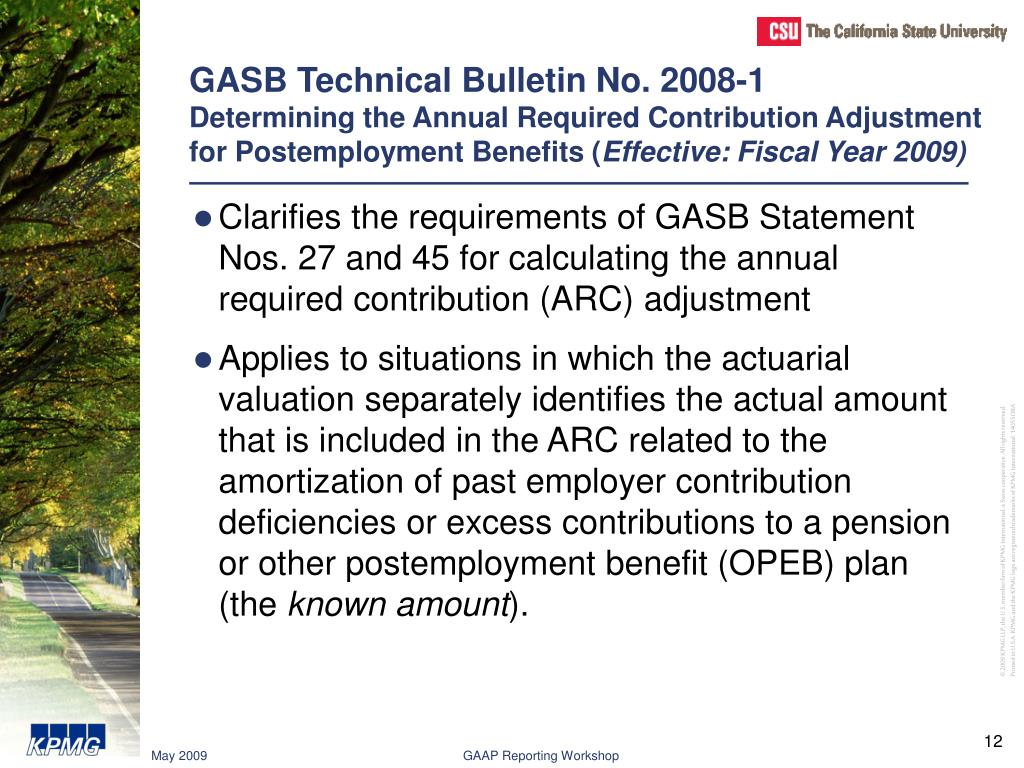 GASB Technical Bulletin No. 2008-1