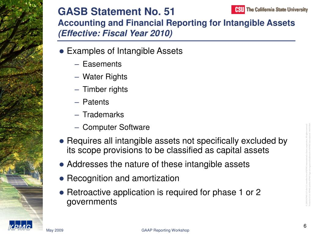 GASB Statement No. 51
