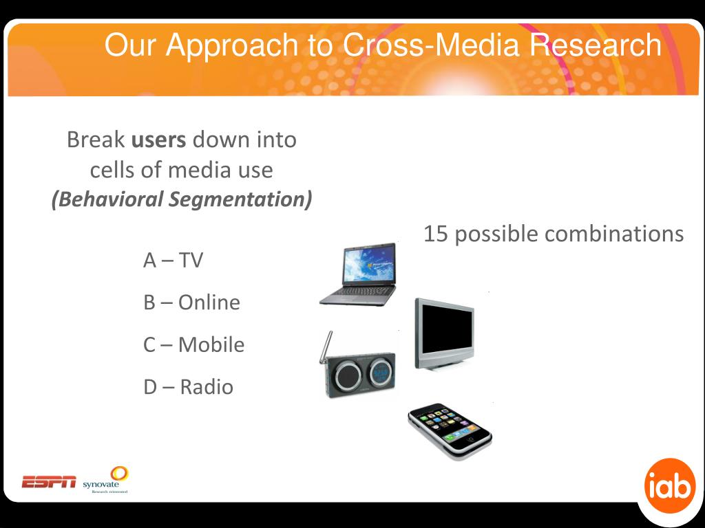 Our Approach to Cross-Media Research