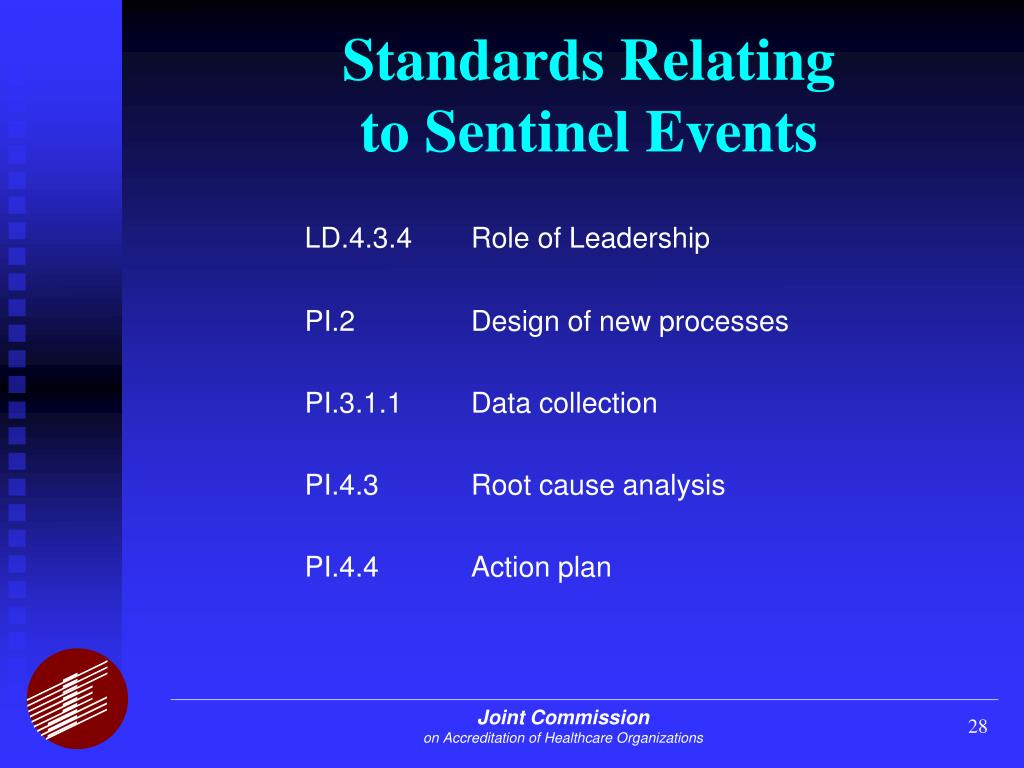 sentinel event root cause analaysis wgu accreditation task 2 That they are competent to do the task they in facilitating root cause analyses of sentinel events are up a root cause analysis remains.