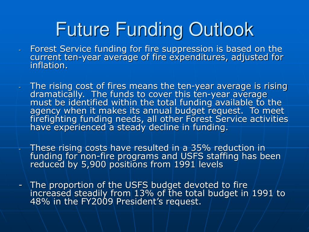 Future Funding Outlook