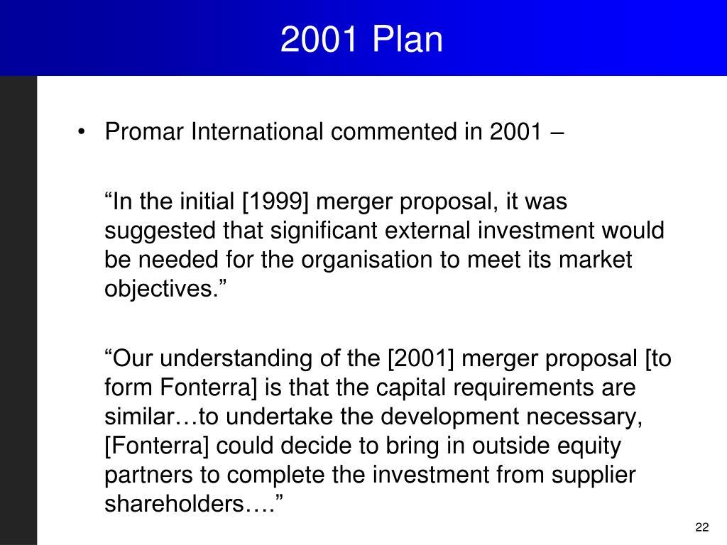 2001 Plan