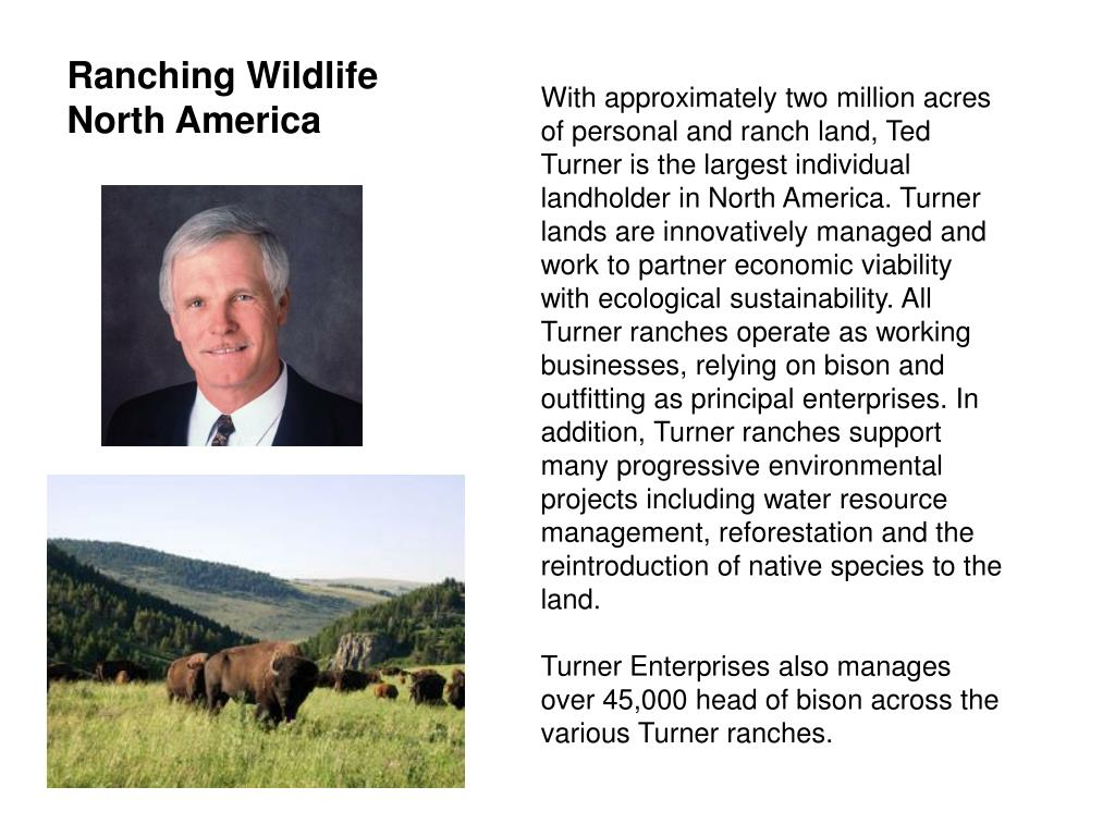 Ranching Wildlife