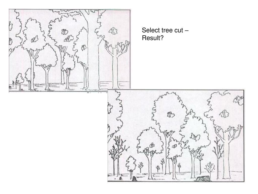 Select tree cut –