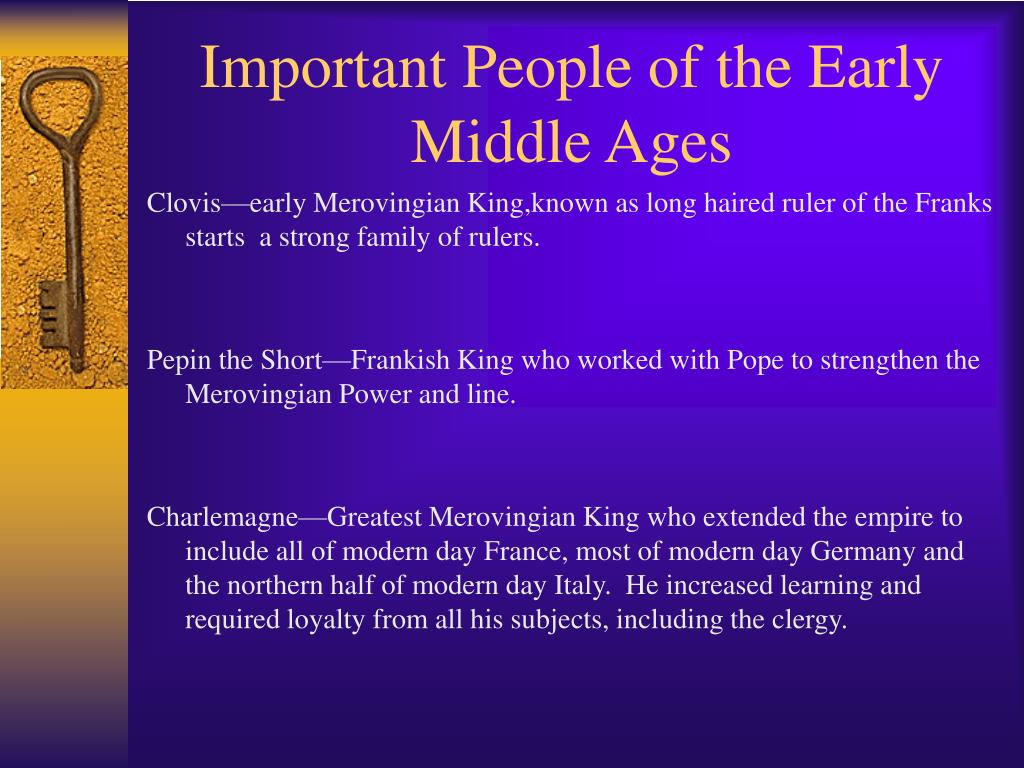 The important improvements during the middle ages