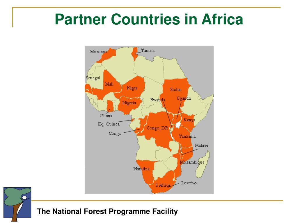 Partner Countries in Africa