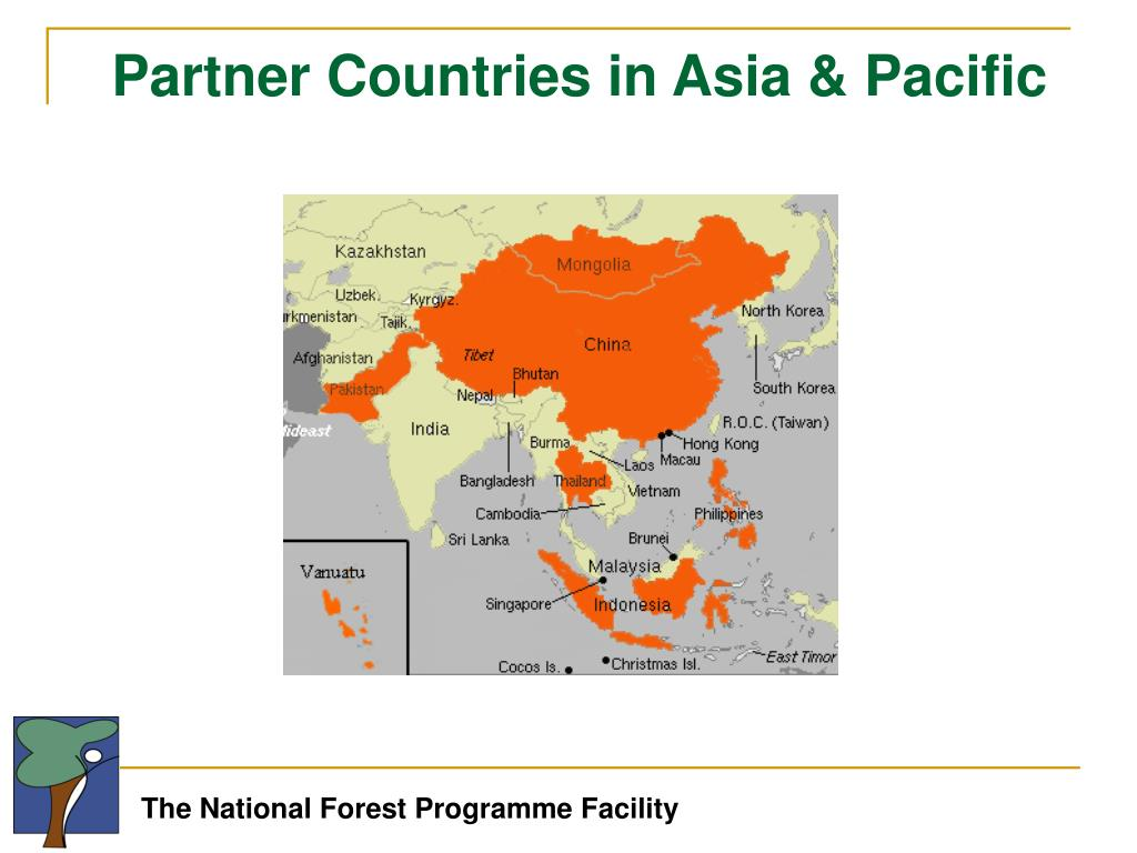 Partner Countries in Asia & Pacific