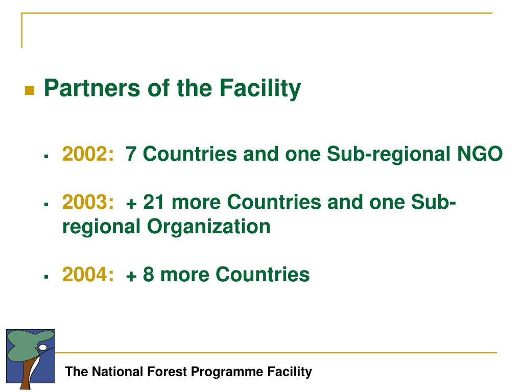 Partners of the Facility