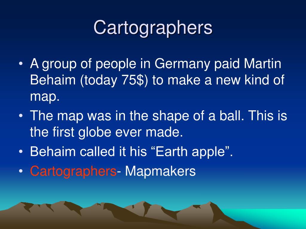 Cartographers
