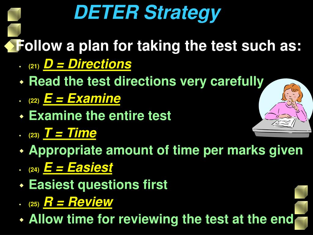 DETER Strategy