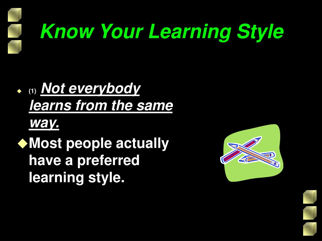 Know Your Learning Style