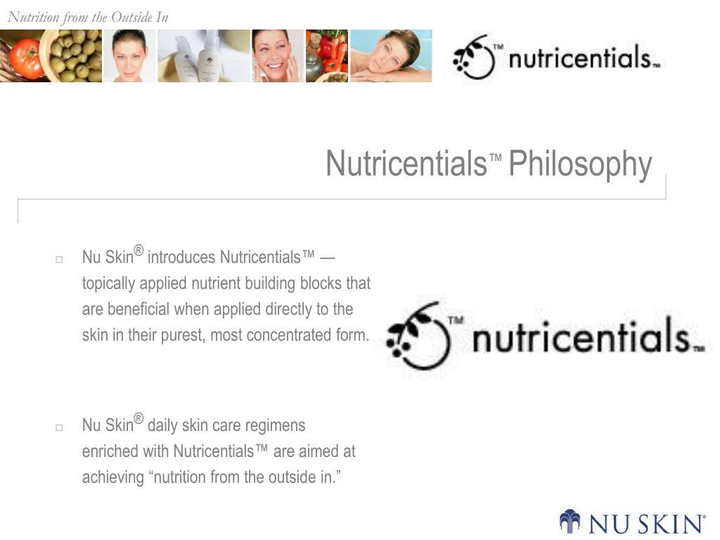Nutricentials