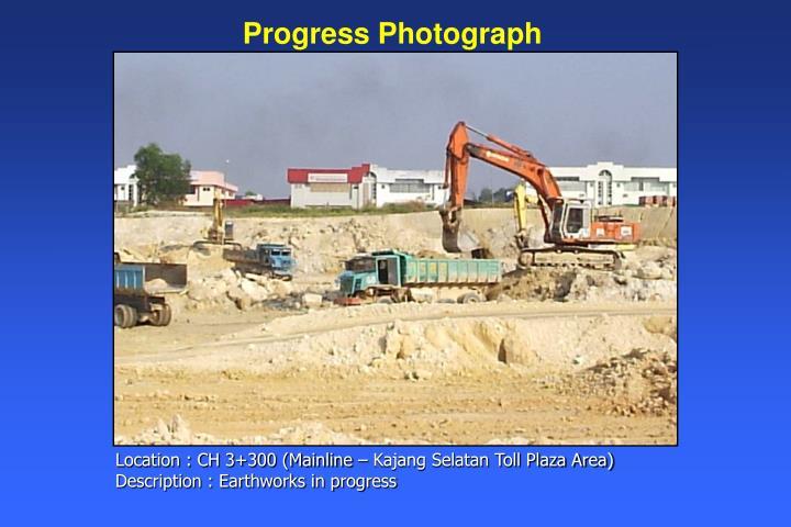 Progress Photograph