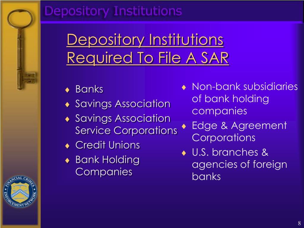 depository institution