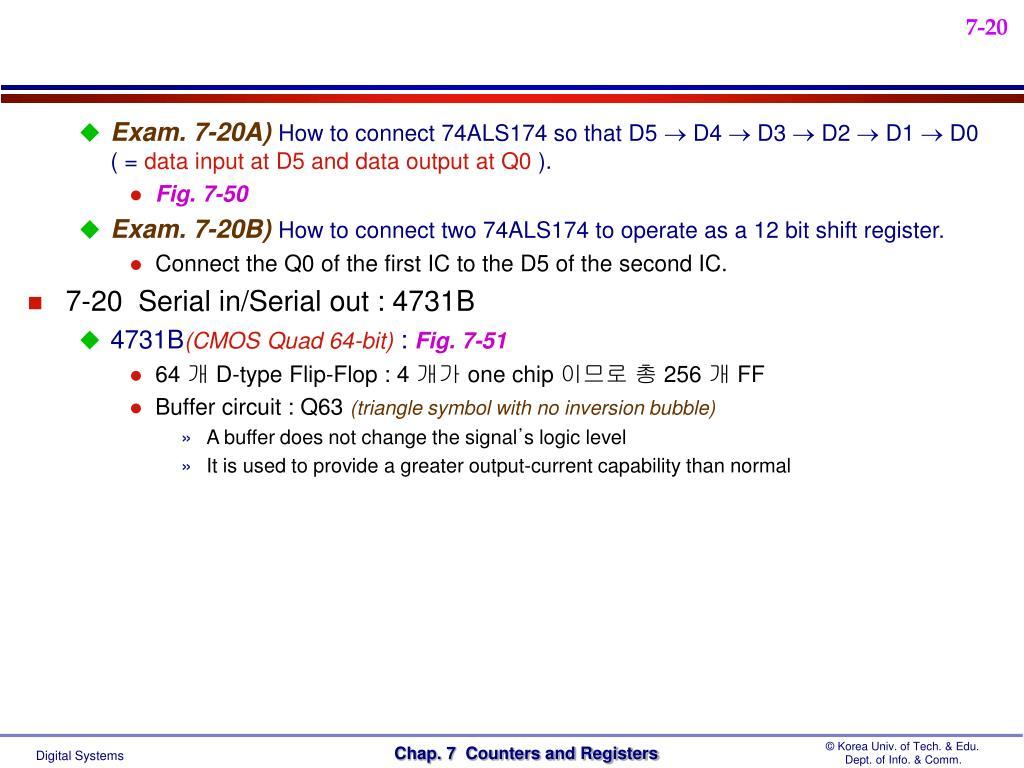Exam. 7-20A