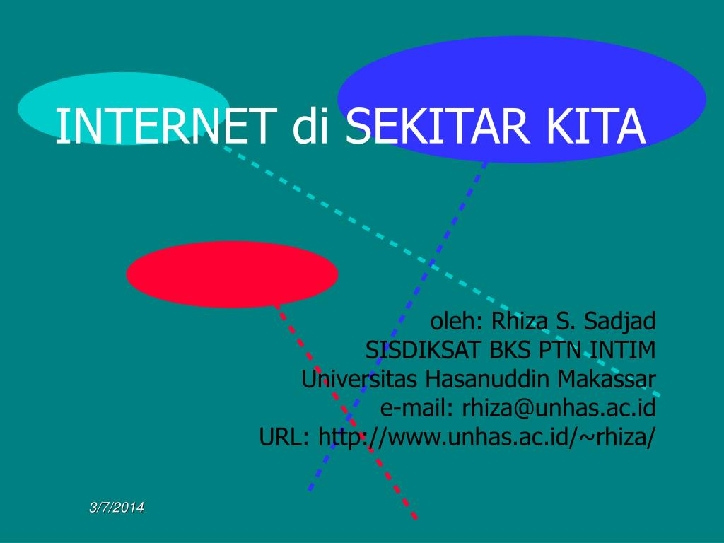 INTERNET di SEKITAR KITA