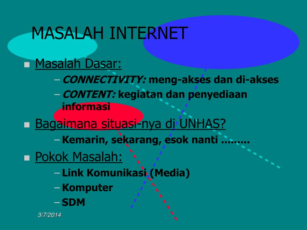 MASALAH INTERNET