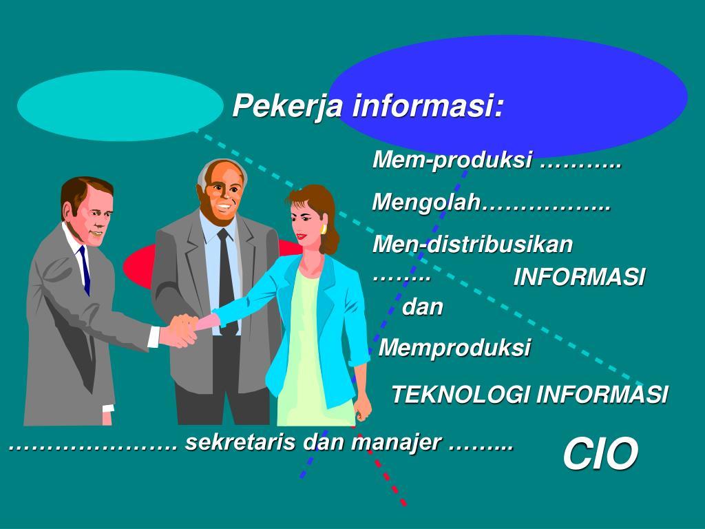Pekerja informasi: