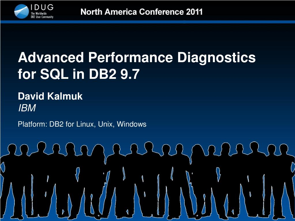 advanced performance diagnostics for sql in db2 9 7