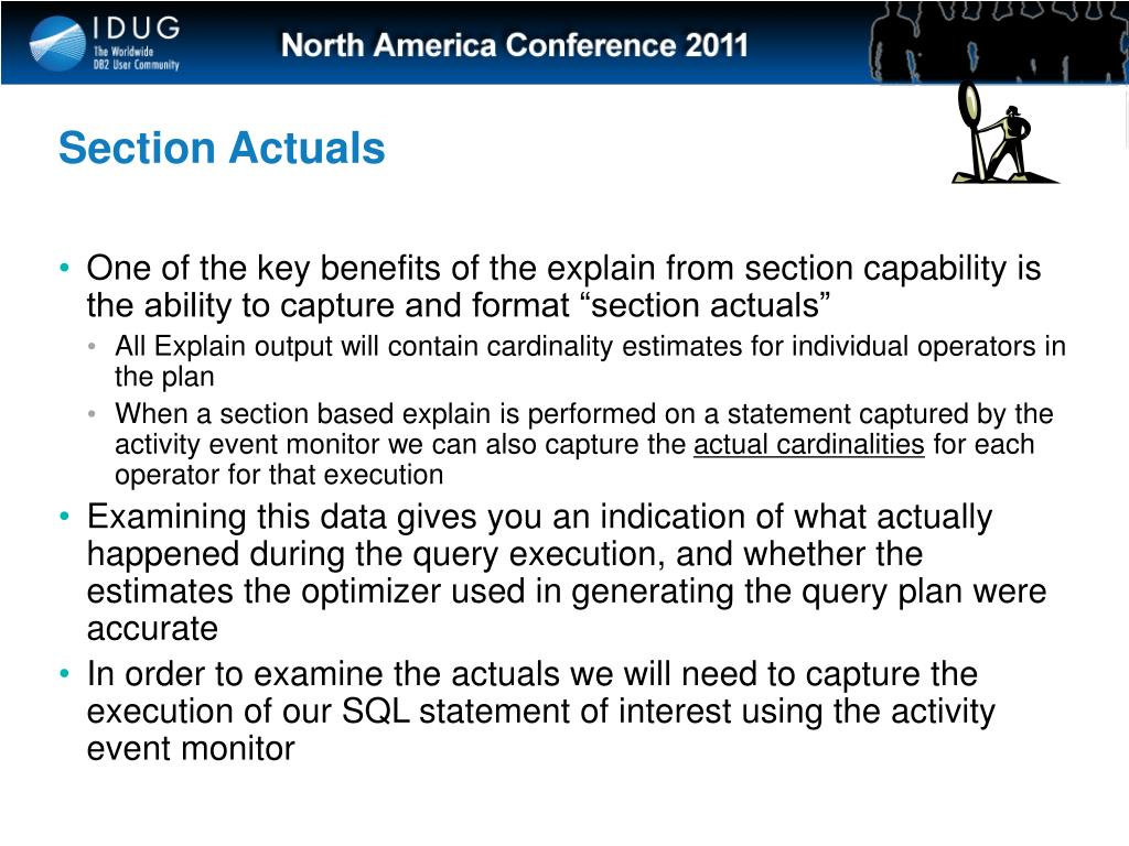Section Actuals