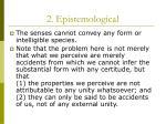 2 epistemological
