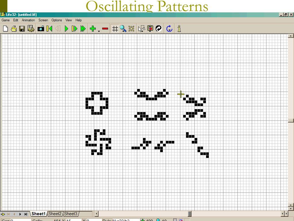 Oscillating Patterns