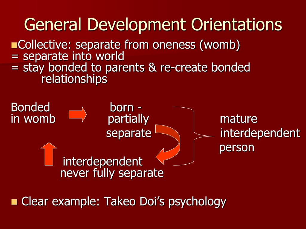 General Development Orientations