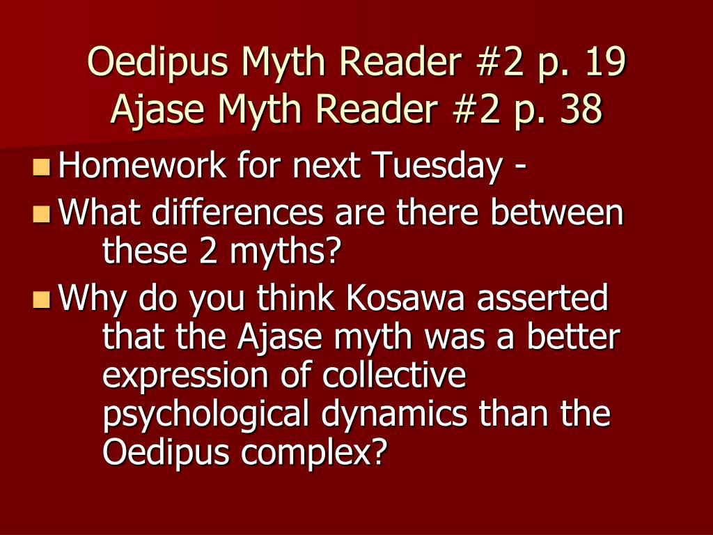 Oedipus Myth Reader #2 p. 19