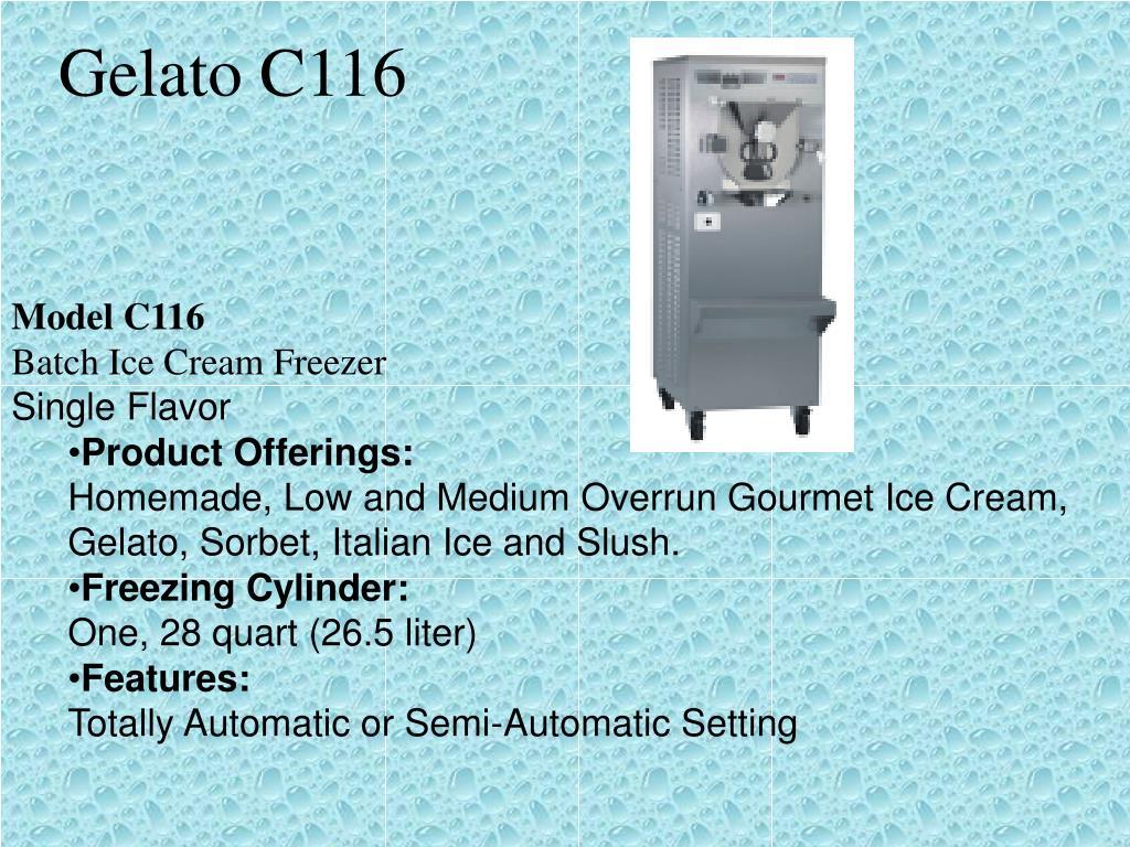 Gelato C116