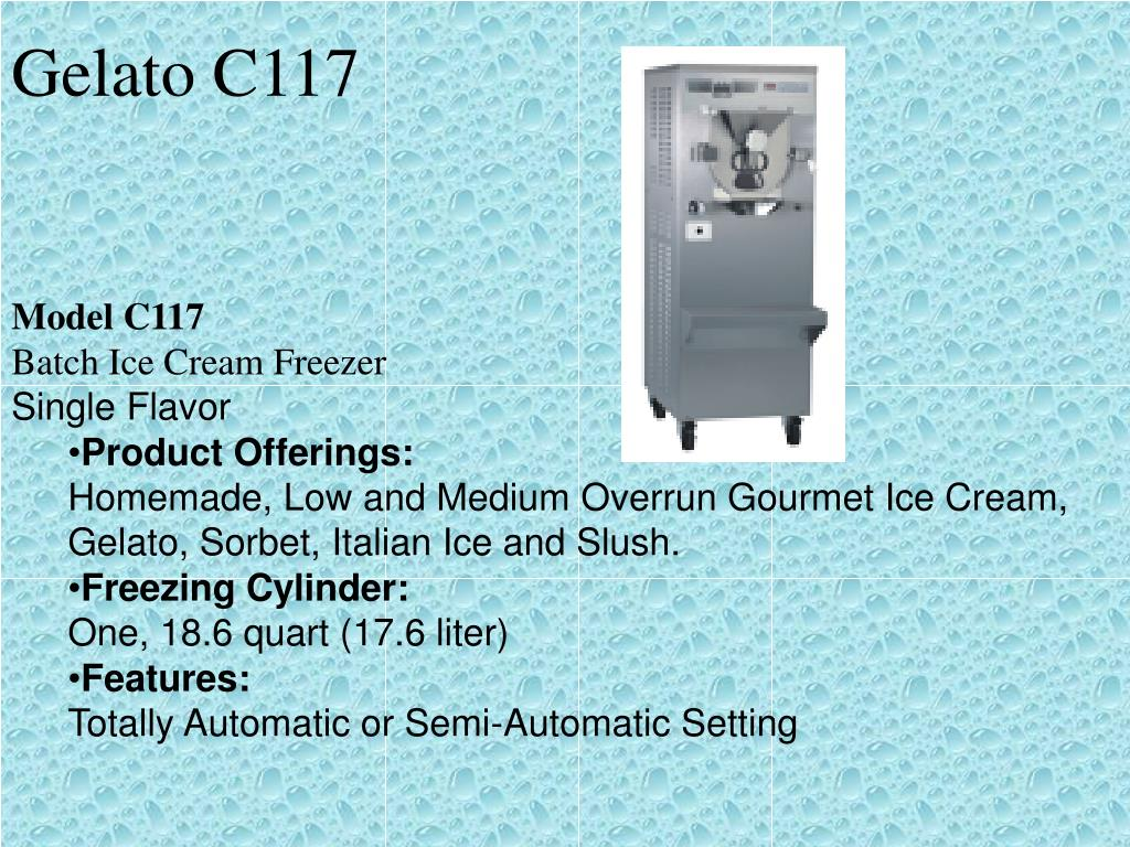 Gelato C117
