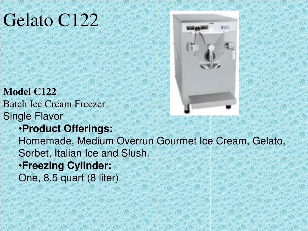 Gelato C122