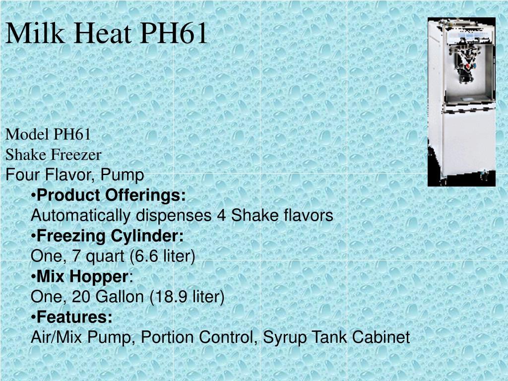 Milk Heat PH61