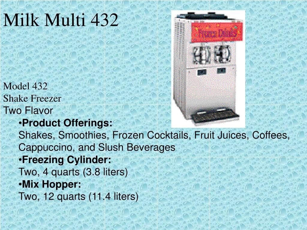 Milk Multi 432