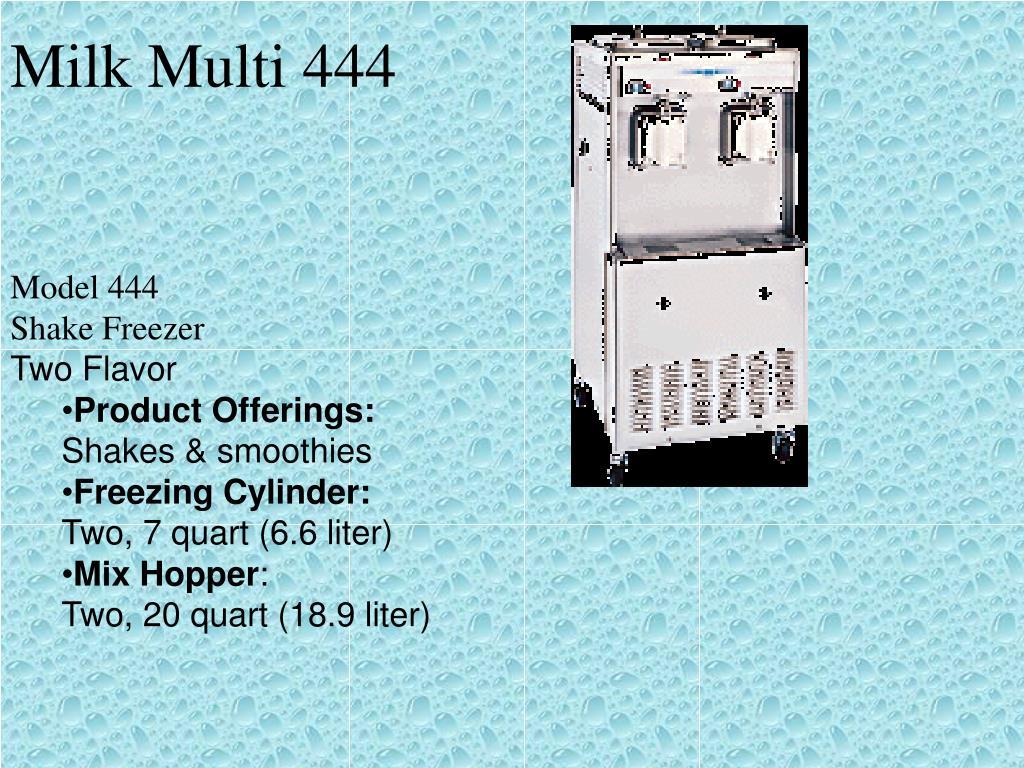 Milk Multi 444