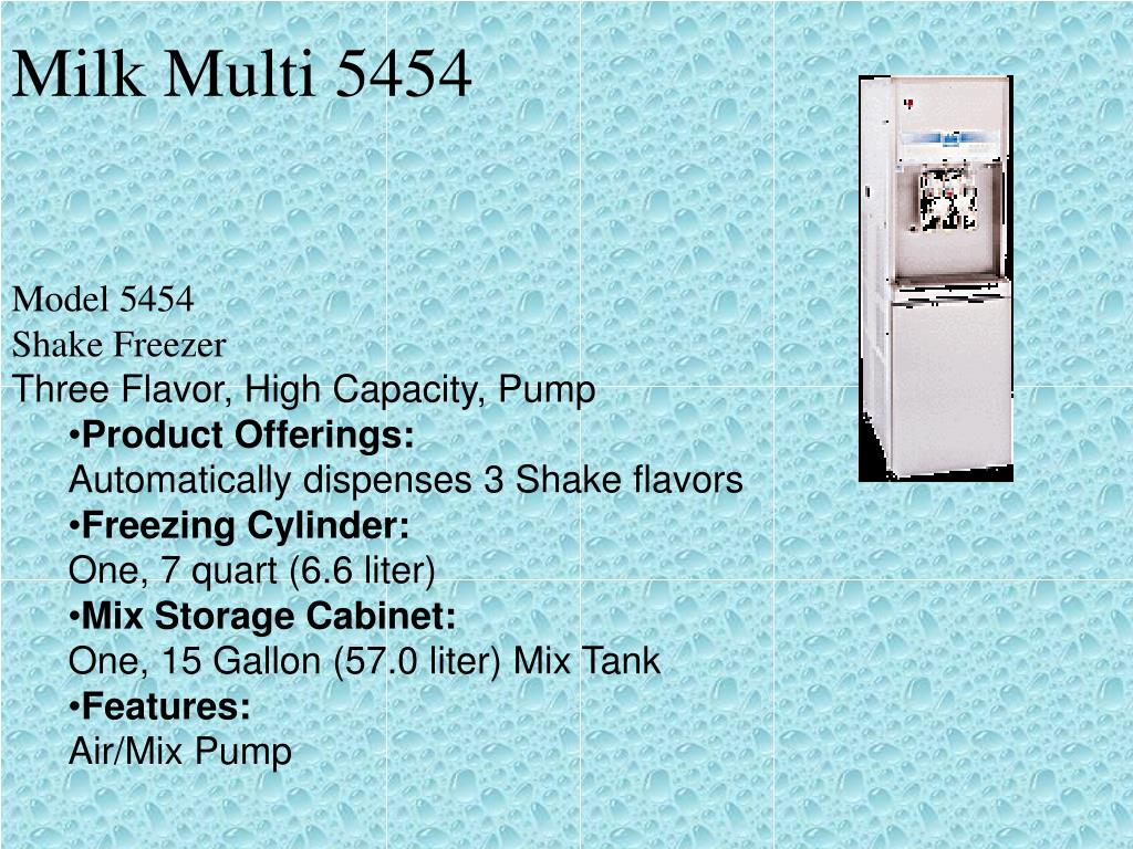 Milk Multi 5454