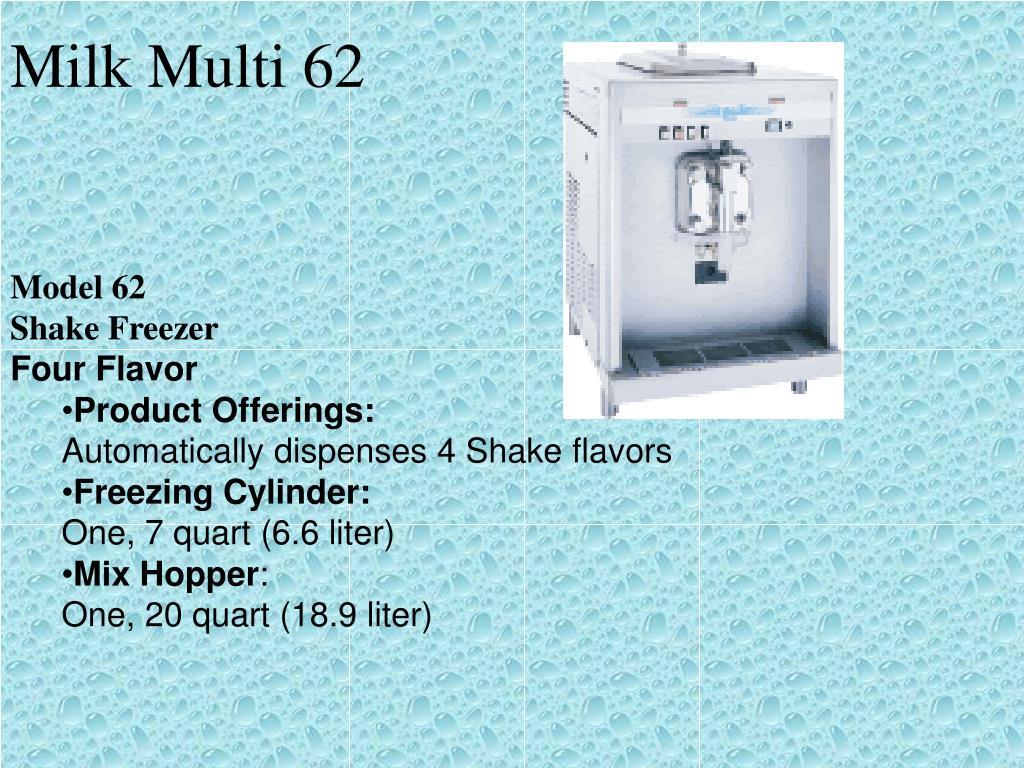 Milk Multi 62