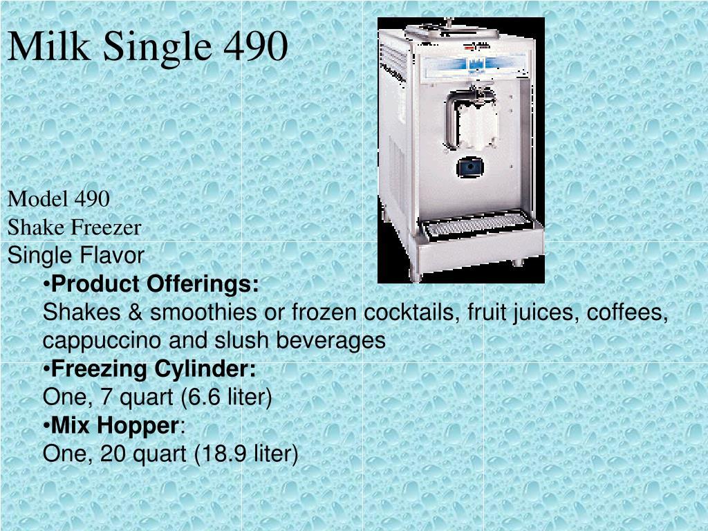 Milk Single 490