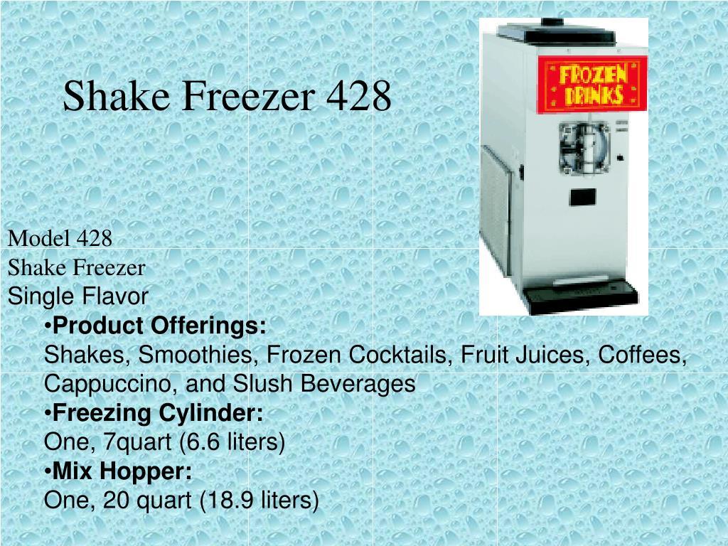 Shake Freezer 428