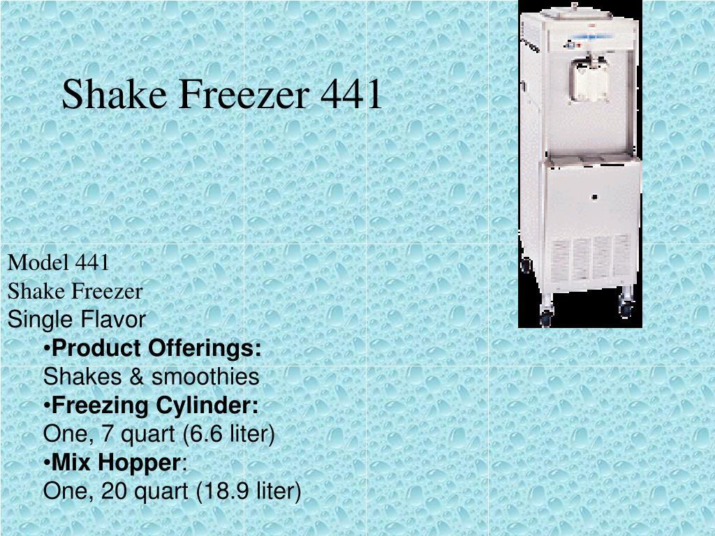 Shake Freezer 441