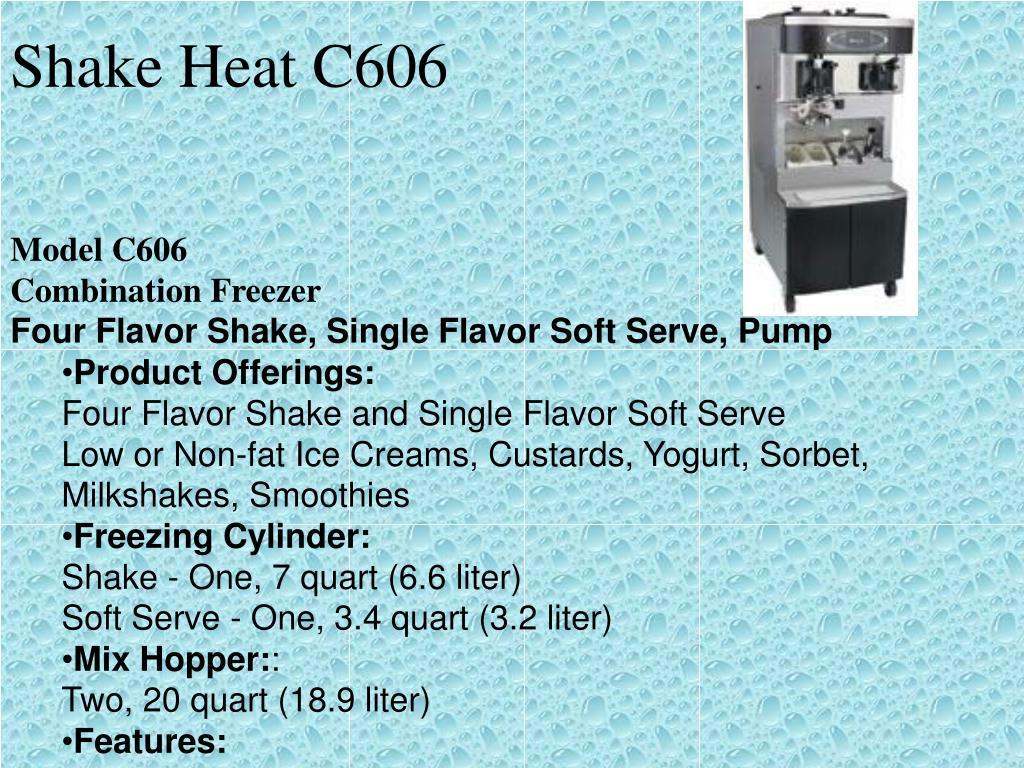 Shake Heat C606