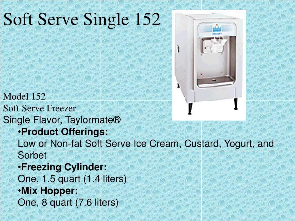 Soft Serve Single 152
