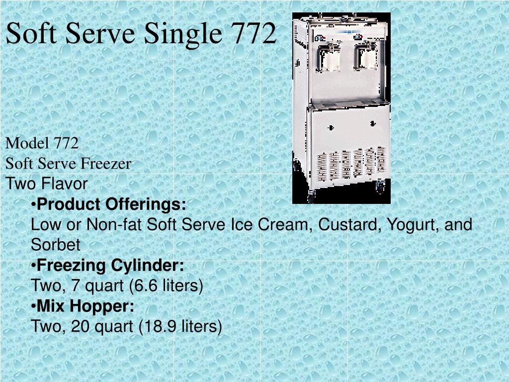 Soft Serve Single 772
